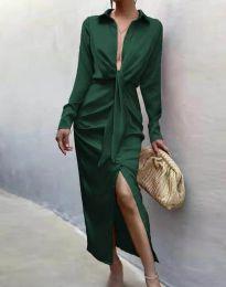 Šaty - kód 6459 - tmavozelená