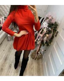 Šaty - kód 658 - červená