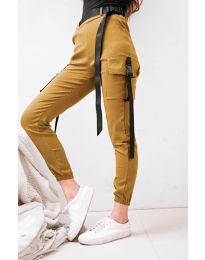 Kalhoty - kód 6967 - hořčičná