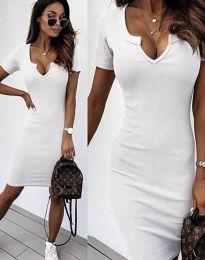 Šaty - kód 2202 - bílá