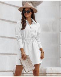 Šaty - kód 132 - bílá