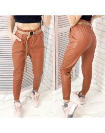 Kalhoty - kód 6329 - 4 - hněda