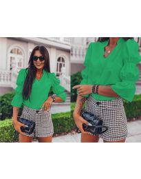 Košile - kód 913 - zelená