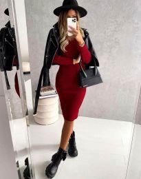 Šaty - kód 4845 - červená