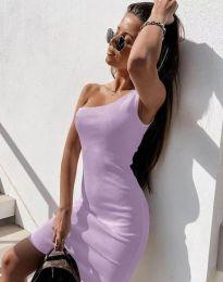 Šaty - kód 6412 - světle fialová