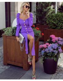 Šaty - kód 4418 - fialová
