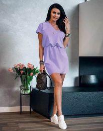 Šaty - kód 3214 - světle fialová