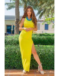 Šaty - kód 11966 - žlutá