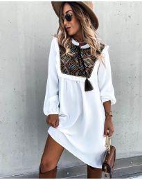 Šaty - kód 958 - bílá