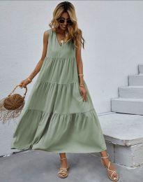 Šaty - kód 8149 - zelená