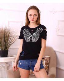 Tričko - kód 3567 - černá