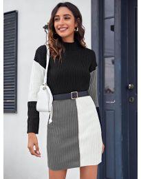 Šaty - kód 9935 - 5 - vícebarevné