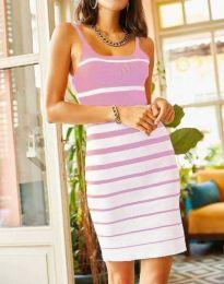 Šaty - kód 0998 - světle růžová