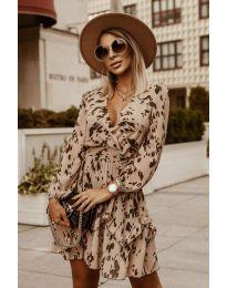 Šaty - kód 7714 - vícebarevné