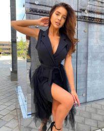 Šaty - kód 2256 - 1 - černá
