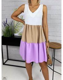 Šaty - kód 3625-4 - bíla