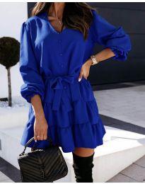 Šaty - kód 8272 - tmavě modrá