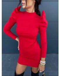 Šaty - kód 1504 - 3 - červená