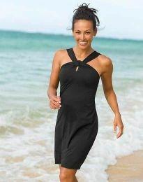 Šaty - kód 32522 - 1 - černá