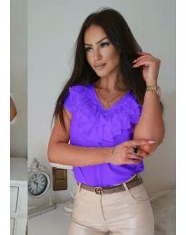 Tričko - kód 388 - fialová