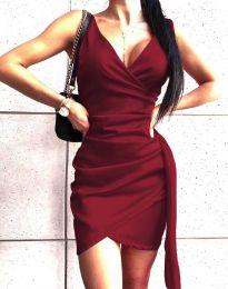 Šaty - kód 4678 - bordeaux