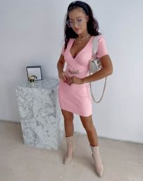 Šaty - kód 4305 - růžová