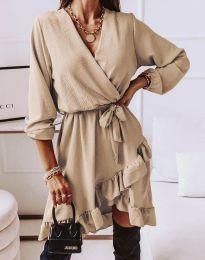 Šaty - kód 5371 - bežová