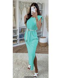 Šaty - kód 7049 - mentolová