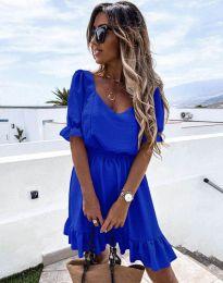 Šaty - kód 6460 - modrá