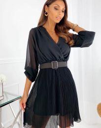 Šaty - kód 3497 - černá