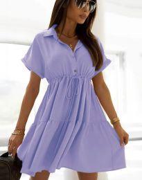 Šaty - kód 6292 - světle fialová