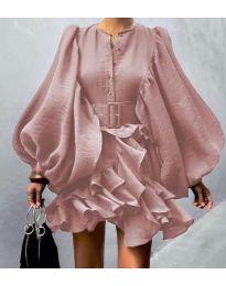 Šaty - kód 2819 - růžová