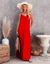 Šaty - kód 4673 - červená