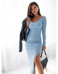 Šaty - kód 12070 - světle modrá