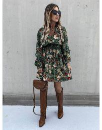 Šaty - kód 7712 - 5 - vícebarevné