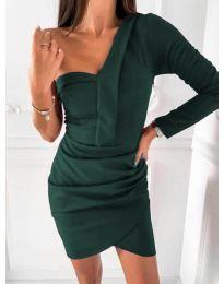 Šaty - kód 2079 - olivová  zelená
