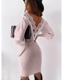 Šaty - kód 1718 - růžová