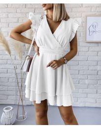 Šaty - kód 409 - bílá