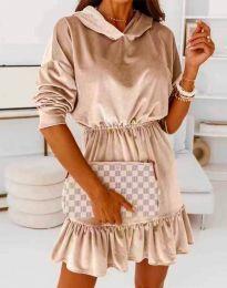 Šaty - kód 0424 - bežová