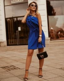 Šaty - kód 7100 - modrá