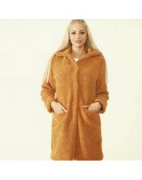 Kabát - kód 1615 - 6 - hněda