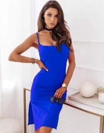 Šaty - kód 7783 - modrý