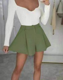 Krátké kalhoty - kód 1455 - olivově zelená