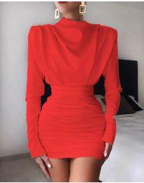 Šaty - kód 8257 - červená