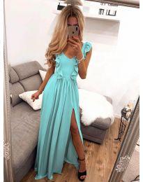 Šaty - kód 673 - tyrkysový