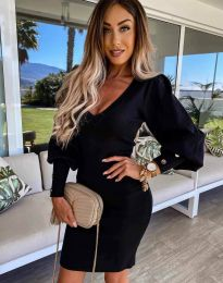 Šaty - kód 2917 - černá