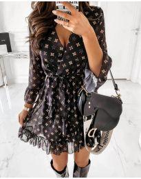 Šaty - kód 5258 - černá