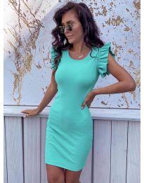 Šaty - kód 199 - tyrkysový