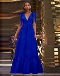 Šaty - kód 2743 - modrá