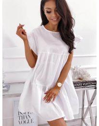 Šaty - kód 3145 - bíla